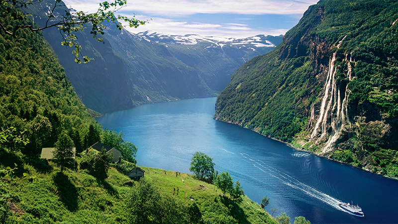 Norges 4 höjdpunkter